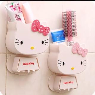 現貨kitty牙刷架牙膏牙具收納