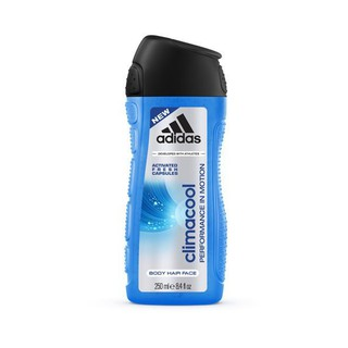 全新 adidas愛迪達 男用三效動能香氛潔顏洗髮沐浴露 250ml