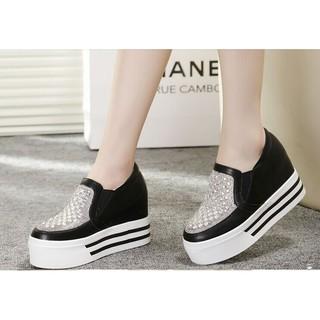 韓版水鑽松高鞋 厚底鞋