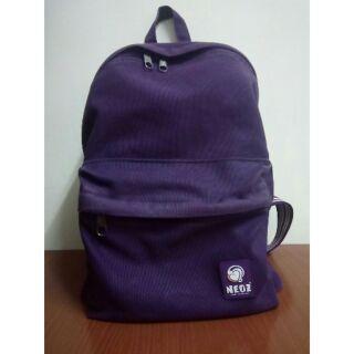 NEOZ 紫色 後背包 大容量