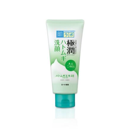 【臺北現貨】ROHTO 極潤 綠 肌膚調理 洗面乳 100g 肌研 (150397 洗臉 洗顏)