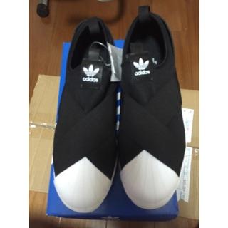 Adidas 黑白繃帶鞋