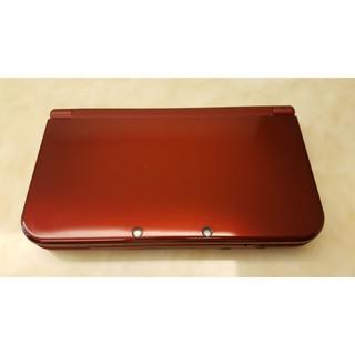 任天堂 New 3DSLL 主機 金屬紅 二手 九成新 日版日規機 3DS LL N3DS