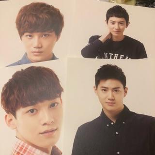 EXO 周邊 A4照片