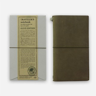 [現貨] TRAVELER'S notebook OLIVE EDITION橄欖綠本體