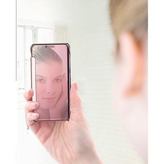 Samsung galaxy A3(2017)/A5(2017)/A7(2017) 電鍍鏡面左右翻智能休眠皮套