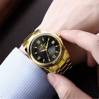 芬尊學生手錶男錶 全自動鏤空 機械表