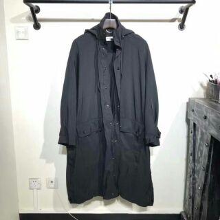 Balenciaga 新款 背後印花 長版 風衣 外套