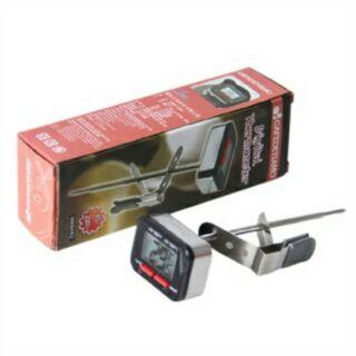 Tiamo 速顯溫度計 附電池 HK0442 數位電子 筆型 夾式 溫度計 速顯 攝氏 華氏