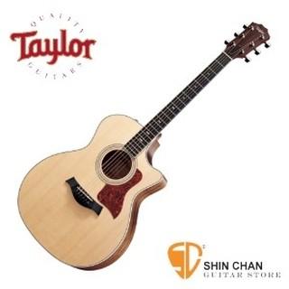Taylor 414ce 全單板 可插電民謠吉他 美廠 附原廠硬盒【414-ce/木吉他/GA桶身】