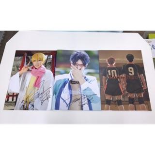 [Reika] 排球少年、Free! Cosplay寫真書 含親筆簽名和2015年曆