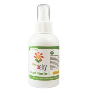 ~JC 小舖~美國Lafe 's Organic 純自然嬰兒防蚊液118ml 保存期限20
