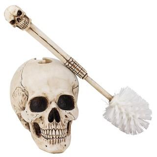 【丹】[A] Skullduggery Skeleton Toilet Bowl Brush 廁所 馬桶刷 骷髏頭