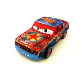 美泰汽車總動員3極速挑戰合金玩具車3代撞車86號賽車總動員系列