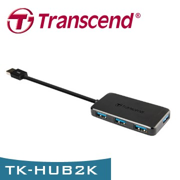 Transcend 創見 TS-HUB2K USB 3.0 4-Port 集線器