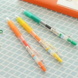 【特價賣場滿199發貨】日本進口文具 百樂pilot彩色中性筆 按動水性筆 簽字筆 0.5mm筆芯