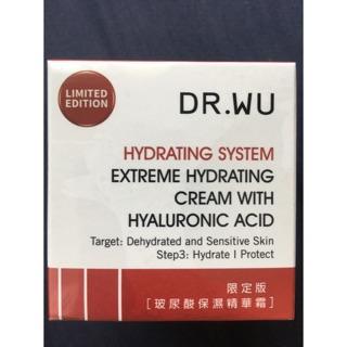 DR.WU玻尿酸保濕精華霜30ml
