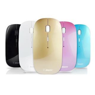 Geyes 可充電無線鼠標無聲靜音筆記本電腦辦公家用女生超溥聯想