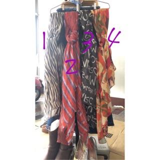韓國製麻棉大披肩%23絲巾