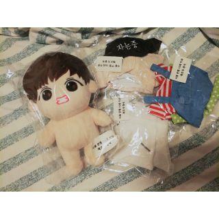 現貨BTS 娃娃 餅乾泰 泰亨 V 防彈少年團 兒子 韓站