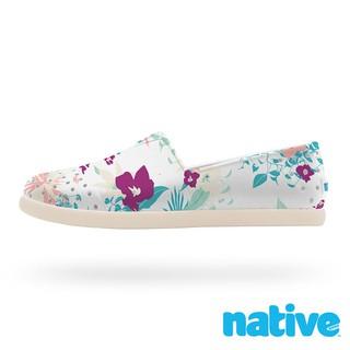 7折出清-【native】VERONA PRINT CHILD 晴雨水手鞋-白色熱帶花卉 C8