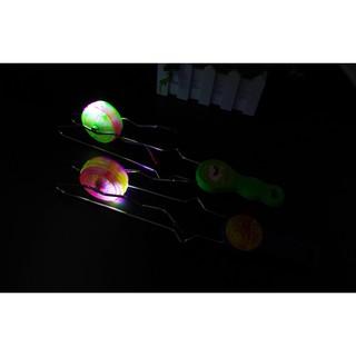 現貨 熱賣 兒童禮物 閃光軌道悠悠球 發光溜溜球 魔術YOYO球創意陀螺玩具地攤貨源批發