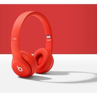 全新Beats Solo3 Wireless 頭戴式耳機-紅色