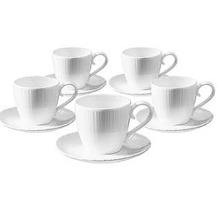 Tiamo 經典白瓷咖啡杯組 SP-1611