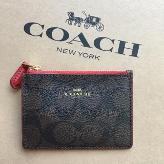 Coach 零錢卡片鑰匙包