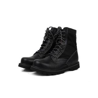 CAT 黑色 皮靴 軍靴 工作靴 戶外防水登山鞋 男款高筒工裝鞋
