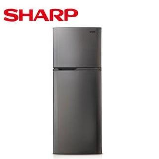SHARP  310公升1級雙門電冰箱(銀色)(SJ-310T-S)