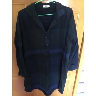[現貨]長版襯衫洋裝