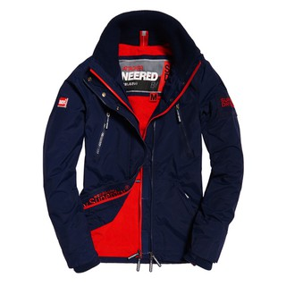 Superdry極度乾燥 Pop-zip Windcheater三層拉鍊風衣外套