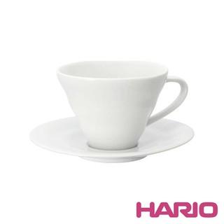伴桌|HARIO 有田燒 V60 白色雲朵咖啡杯盤組 150ml (CCS-1W)