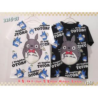 預購♥♥♥滿版龍貓短袖T恤(2色)﹋Nice奈絲小舖
