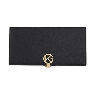 KURT GEIGER LONDON Saffiano leather logo wallet