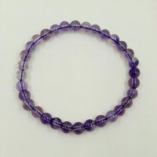 薰衣草紫水晶手珠/附禮盒