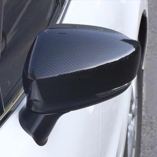 特殊優惠魂動 進口Mazda3馬自達3碳纖維後照鏡飾罩