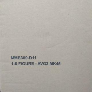 HOT TOYS MMS300-D11 鋼鐵人 MK45