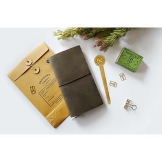 時尚潮流居家生活百貨日本MIDORI  TRAVELER'S notebook  TN 限量橄欖綠 標準版 現貨