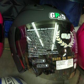 【帽帽】gp5 KC612,改搭電鍍或五彩鏡片