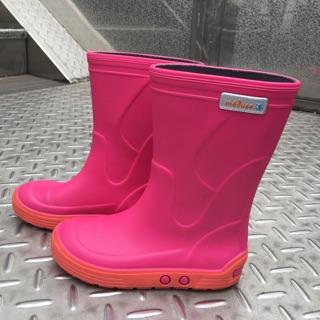 法國製造**Méduse®素色霧面兒童雨靴27
