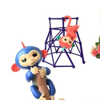 兒童益智玩具 哄睡玩具手指猴配件攀爬架 手指猴攀爬架  蝦皮熱賣款