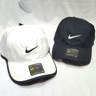 NIKE  FEATHERLIGHT DRY-FIT 單勾  透氣帽 黑  白