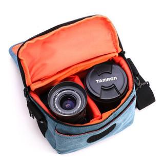 coress柯洛斯 微單相機包 帆布攝影包可單肩可腰系多功能