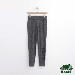 賠售!!!全新 Roots女裝 - OPEN MOVEMENT系列修身長褲 - 灰色 深雪花配色
