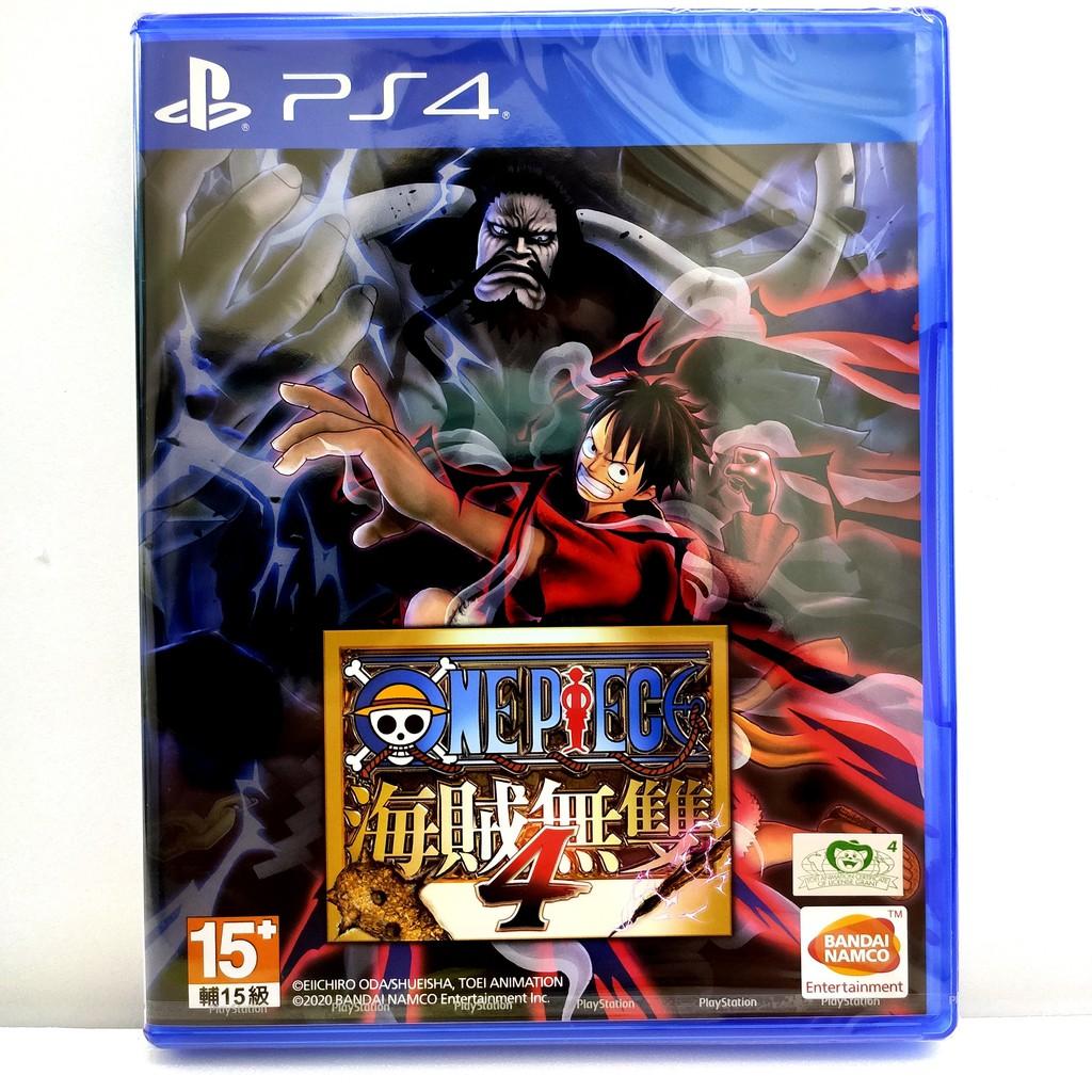 【現貨】PS4 航海王 海賊無雙4 中文版