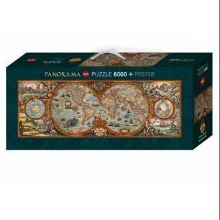 (降價)(現貨) HEYE 世界地圖 6000片 拼圖  (雷諾瓦售4999元)
