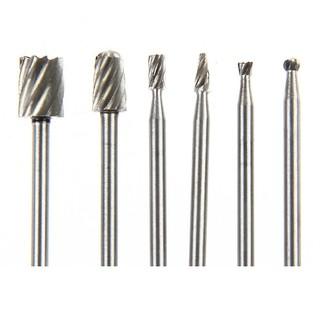 6件微型鑽頭切割木材雕刻工具套件