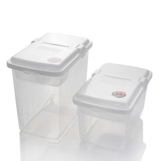 現貨日本進口inomata米桶 儲米箱米缸10KG 防蟲防潮5KG塑料面粉大米桶